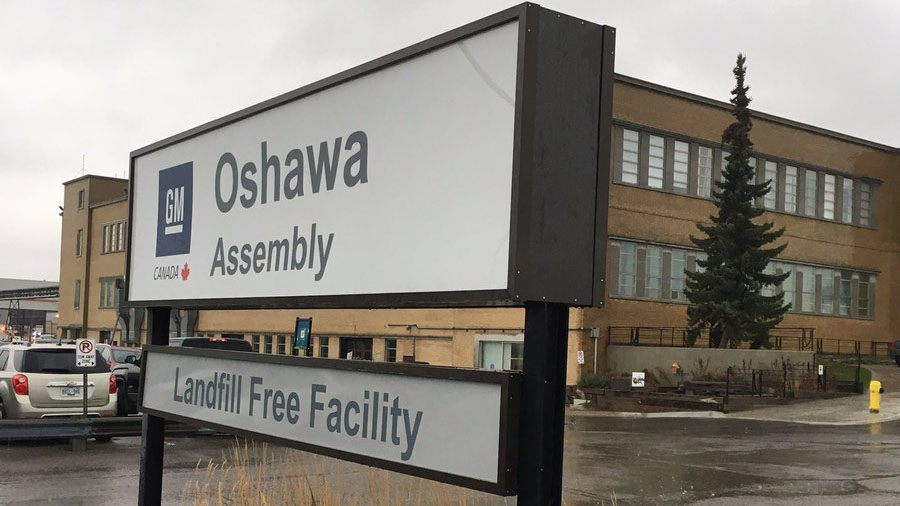 GM 'betraying' Canada by closing Oshawa plant: Unifor president