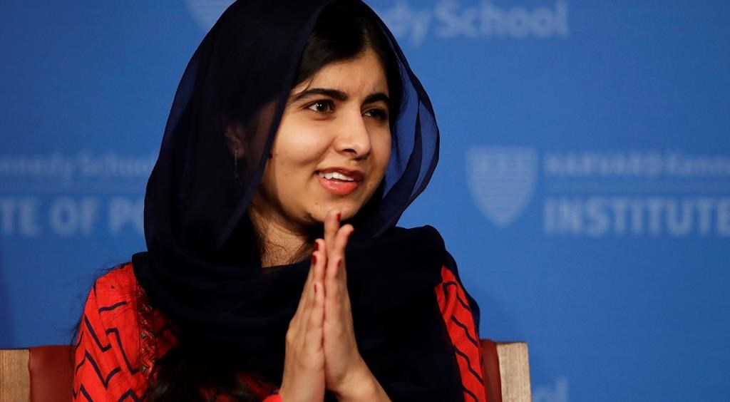 Nobel Peace Prize winner Malala Yousafzai headlines women's