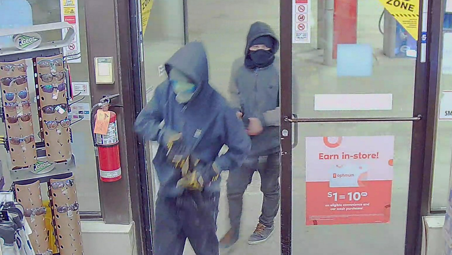 Hinton RCMP seek two robbery suspects