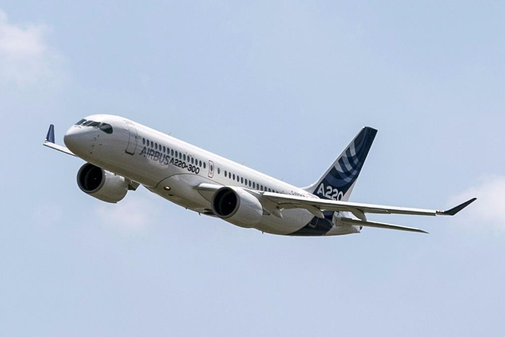 Air Canada launches routes with fuel-efficient A220 to seize ...