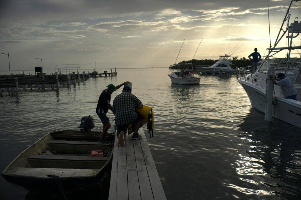 Hurricane Dorian heads for Puerto Rico amid fears of flooding