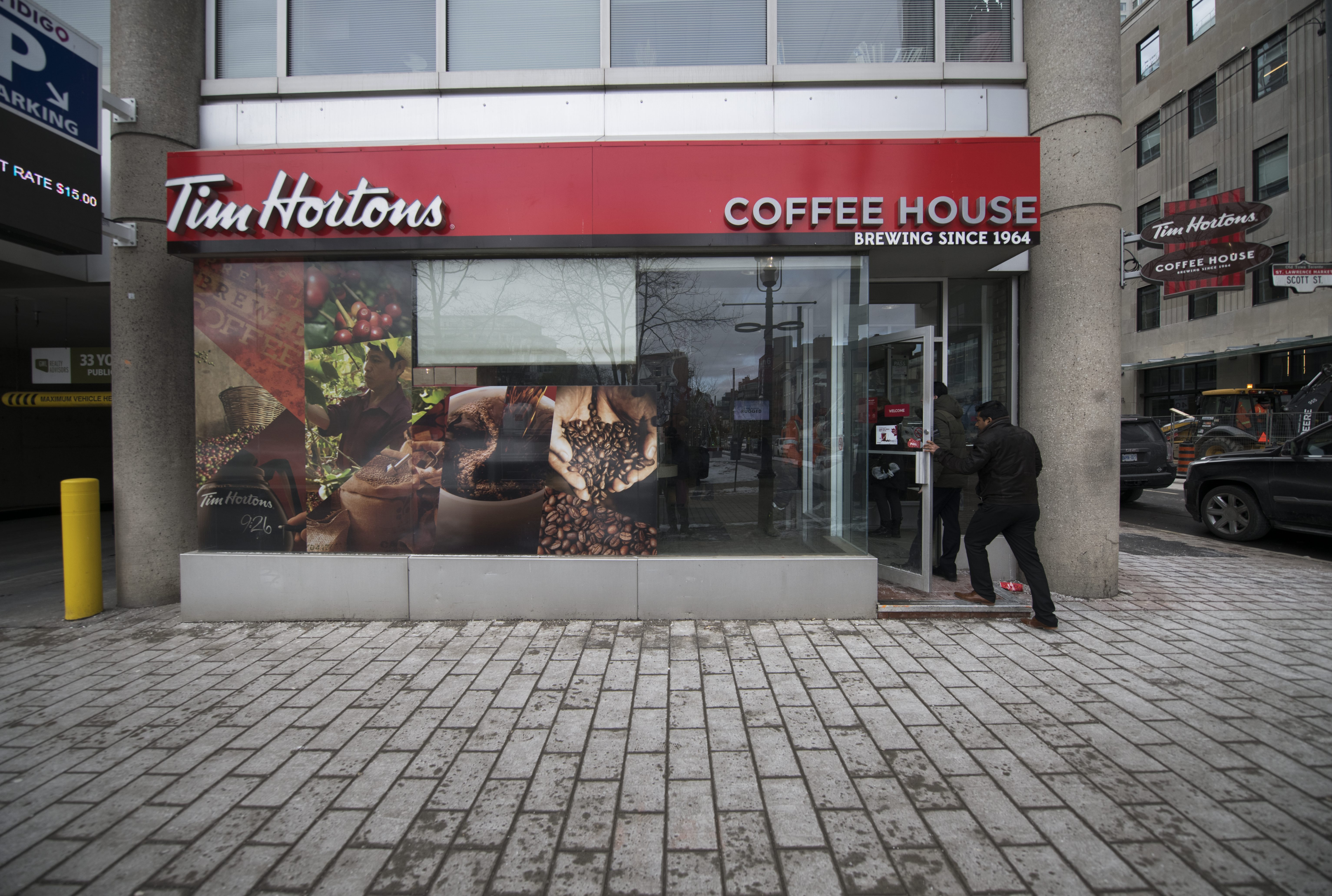 What is happening to Tim Hortons?