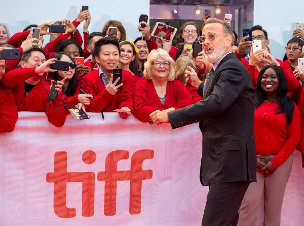 Tom Hanks on 'sweater snafus' and nailing the TV entrance of