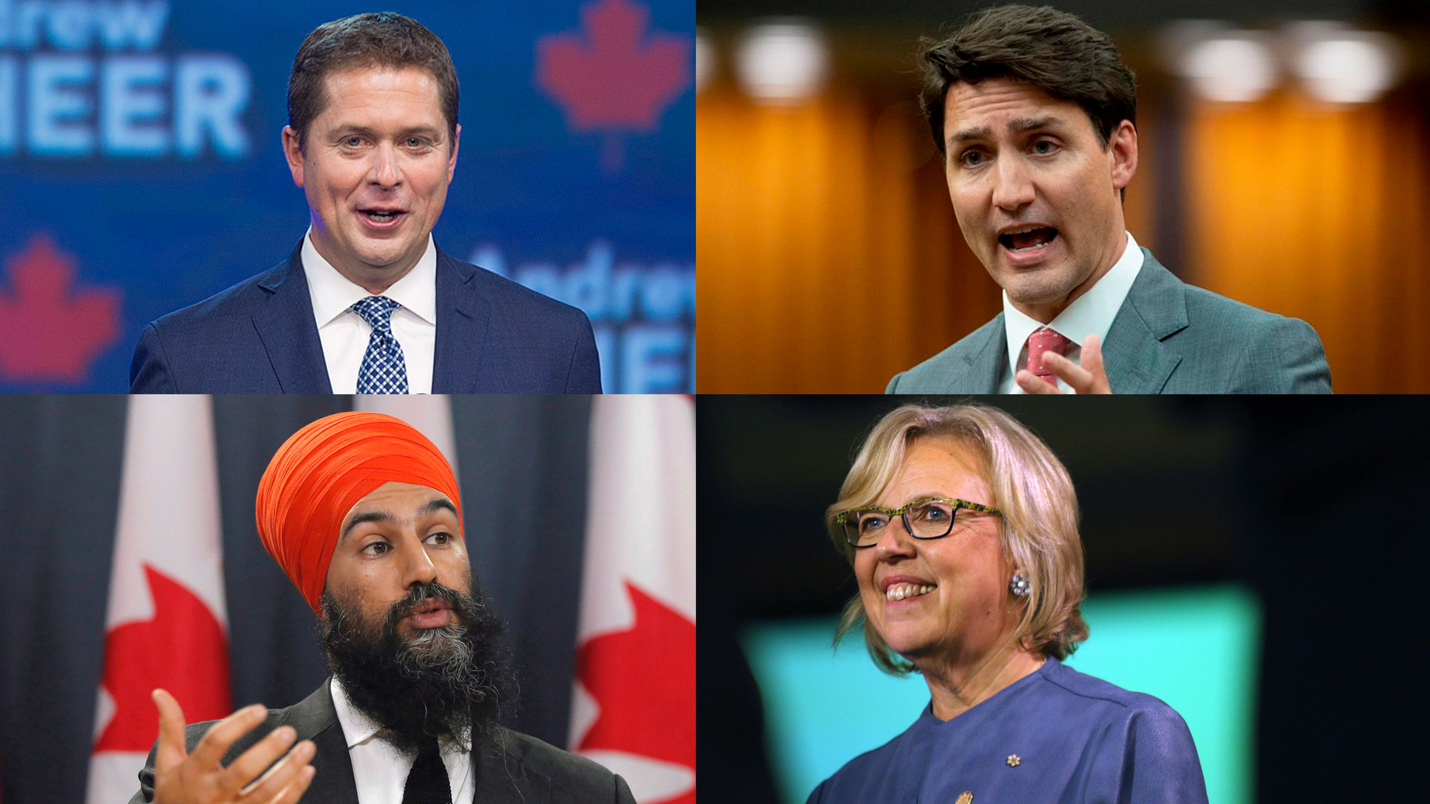 Photo-ops, political fights: Party leaders deal with tough