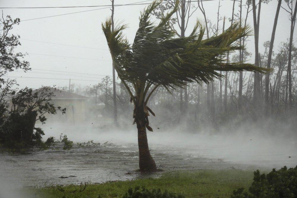 Dorian triggers massive flooding in Bahamas