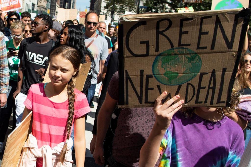 Climate activist Greta Thunberg tweets that she plans to visit Alberta