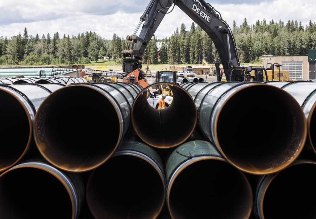 Trans Mountain pipeline construction milestone celebrated in Alberta