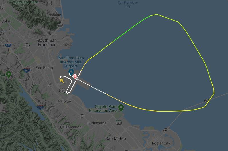 Time calgary to francisco flight san