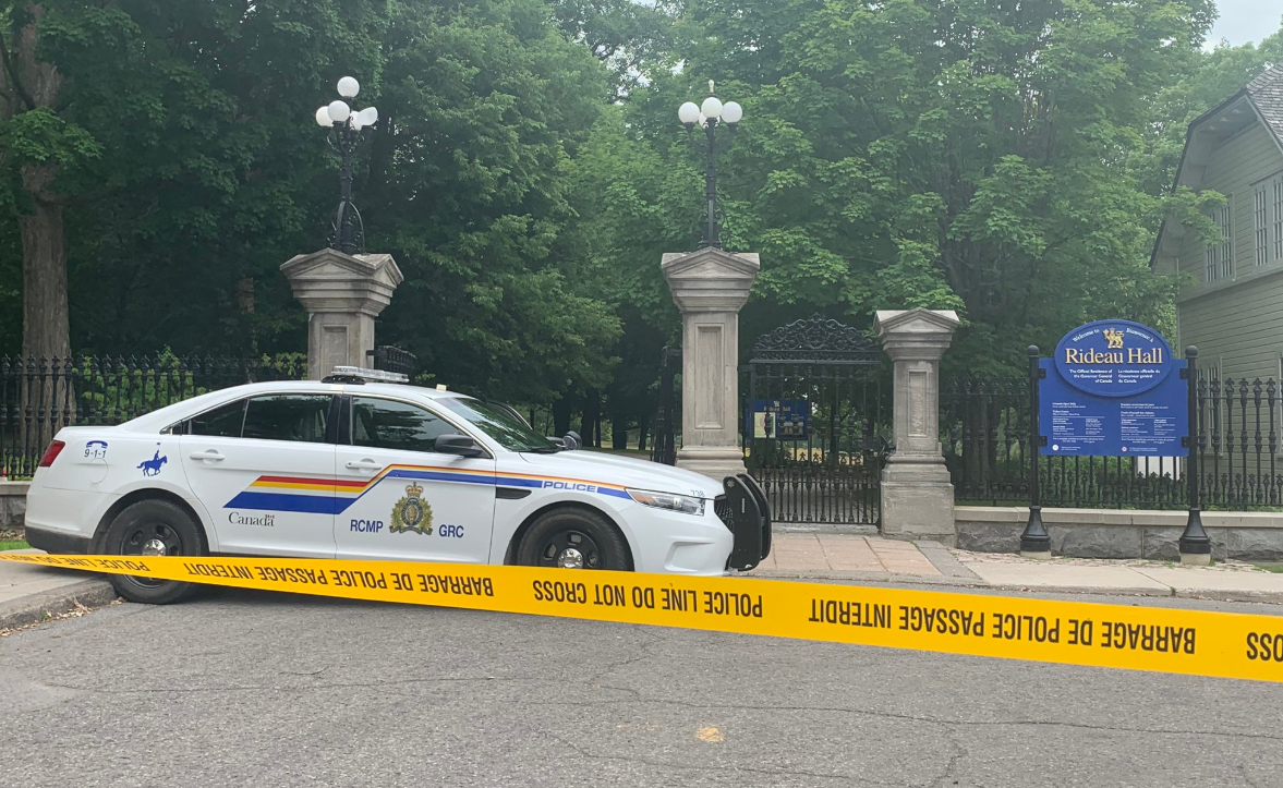Military reservist in armed Rideau Hall incident in court, charges expected