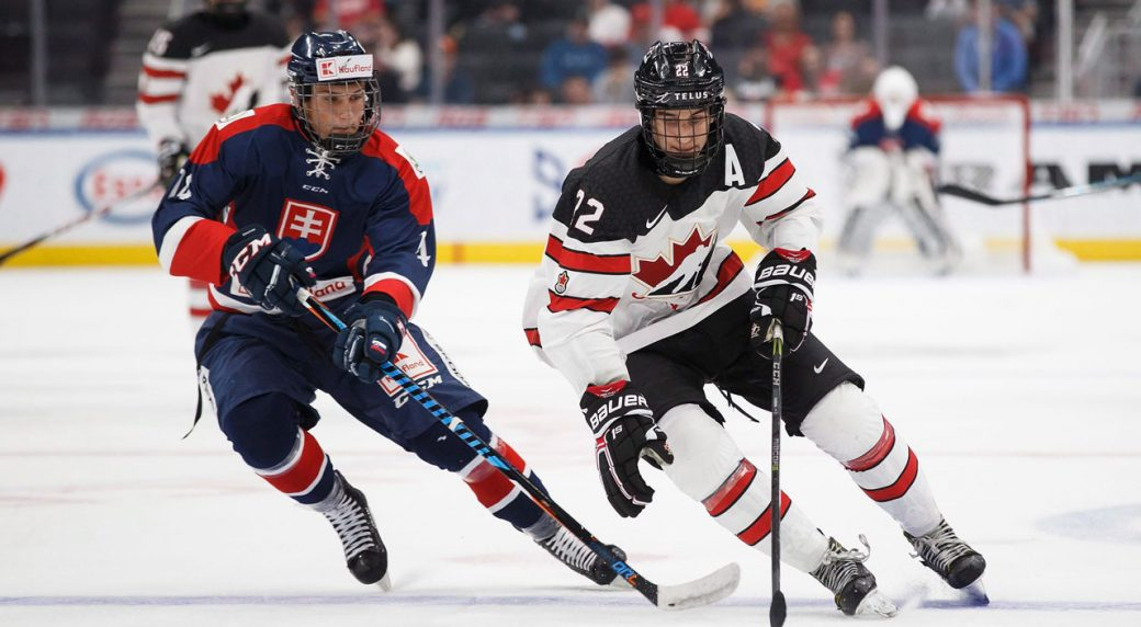 Americans Open World Juniors with Loss to Russian Federation