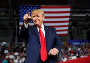 Trump repeats election claims in interviews, is unchallenged