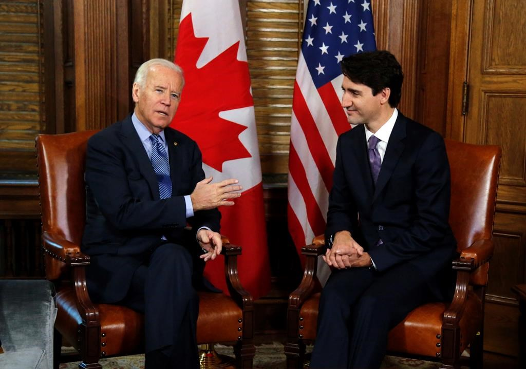 Trudeau, Biden and their cabinets to hold first virtual meeting Tuesday