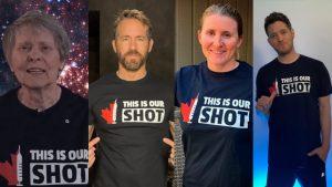 Roberta Bondar, string of celebrities back campaign to battle vaccine hesitancy