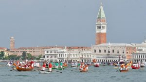 Cruise ships restart in Venice; protesters decry their risks