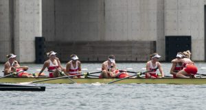 Canada wins gold medal in women's eight rowing