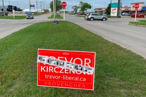 Transgender candidate in Manitoba targeted by hate speech, signs vandalized