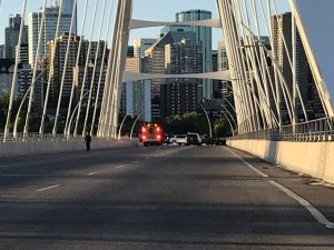 Fatal overnight collision that on Walterdale Bridge under investigation
