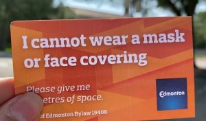 Edmonton pauses face exemption card program amid criticism