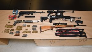 Over a dozen gun charges laid against 'prolific offender': EPS