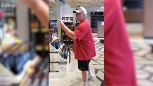 Racist rant at Edmonton liquor store caught on video